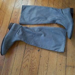 Banana Republic slate grey boots